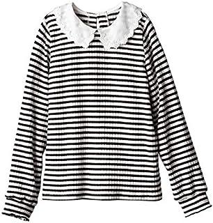 [nissen(ニッセン)] 衿付き カットソー リブ プルオーバー 大きいサイズ レディース