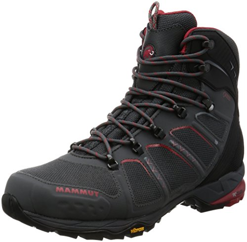 Mammut T Aenergy High GTX Boot - Men's Graphite/Lava, 11.0