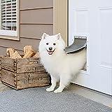 PetSafe Extreme Weather Dog and Cat Door - Aluminum Frame Pet Door - Medium