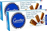 Gavottes - Crispy Lace Crepes From France covered in Milk Chocolate 2 Packs 2x18 Crepes 2x3.17oz