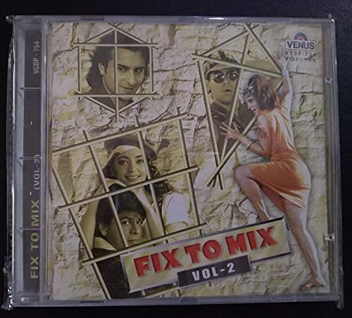 Fix To Mix Vol.2 -Bollywood [Audio CD] Dj Remix By Harry Vipin Anand