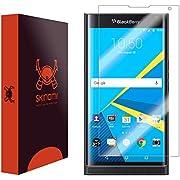 Skinomi TechSkin - Schutzfolie für BlackBerry PRIV - deckt den Bildschirm