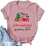 Womens Merry Christmas T Shirt Funny Leopard...