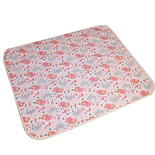 Moligh doll Baby Tragbare Faltbare Waschbare Kompakte Reisewindel Wasserdichte Bodenwindel Game Pad-70 X 90Cm