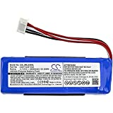 Cameron Sino Battery For JBL Charge 3 (2016) Charge 3 (2016) Version, Fits JBL GSP1029102A Li-Polymer 3.70V 6000mAh/22.20Wh