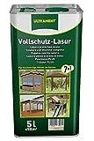 Ultrament 68250050195208 - Barniz de protección total 7 en 1 para madera (5 L,...