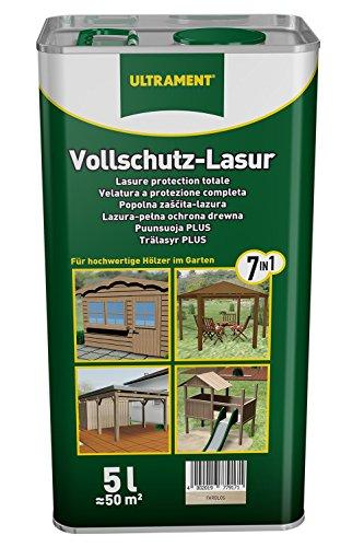 Ultrament Vollschutz-Lasur 7-in-1, farblos, 5l