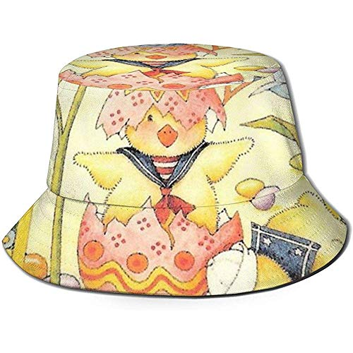 Henry Anthony Semana Santa María Engelbreit. Bucket Hat Summer UV Sun Fisherman...