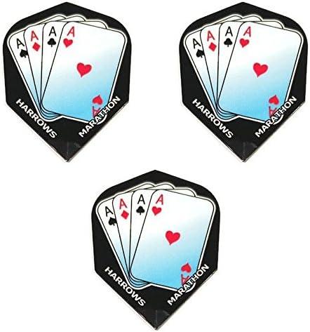 Art Attack Harrows Marathon Rare Aces Up Diamond Heart Spade sale Club 100