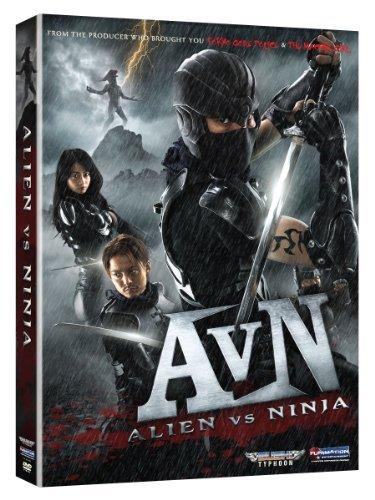 Alien Vs Ninja by Mika Hijii