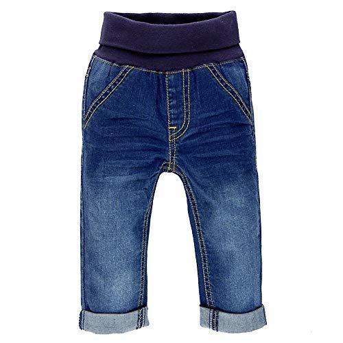 Feetje Baby-Unisex Jeans mit Gummibund 522.01050-950 Blue Denim, 56