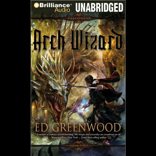 Arch Wizard audiobook cover art