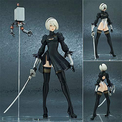XK Nier: Personaggi Automata Action Figure 28 Centimetri-Yorha No. 2 Tipo B Animato Statua Girl Souvenir Collection Decorazioni Giocattoli Yorha No. 2 Type B