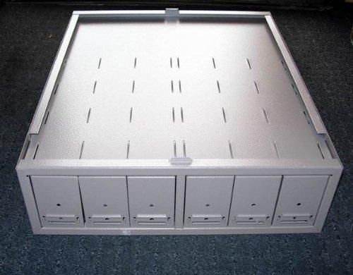 Boekel 141000 Modular Slide Storage Cabinet, 15-3/4' W x 19' D x 5' H