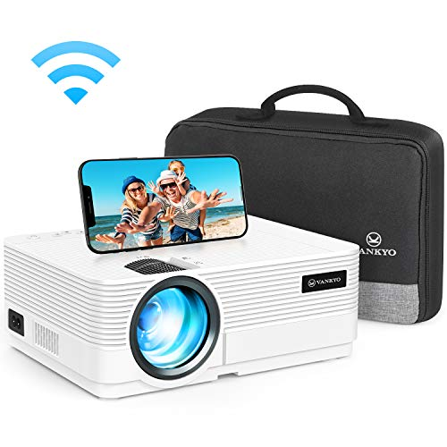 avis rapport videoprojecteur professionnel Projecteur vidéo WiFi, Projecteur VANKYO 5000 Lumens Connexion Wi-Fi Sync 1080P Full HD…