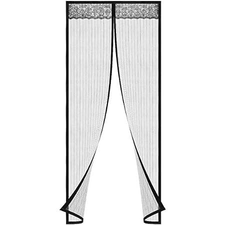 Mosquitera magnética para puertas y ventanas, 240 x 140 cm ...