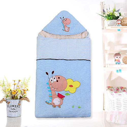 Baby Schlafsack Quilt mit Farbe Baumwolle Neugeborenen Anti-Kick ist Baby Schlafsack 80cm0-12 Monate-Blue dragon_80cm verdickt kinder schlafsack schlafsack für kleinkinder