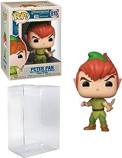 Peter Pan New Pose Pop #815 Disneyland 65th Vinyl Figure (Bundled with EcoTek Protector to Protect Display Box)