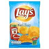 ketchup 130g di patatine fritte Lay - ( Prezzo unitario ) - Chips lay's ketchup 130g