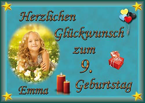 Tortenaufleger Fototorte Tortenbild zum Geburtstag DIN A5 G23 (Zuckerpapier)