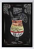 To Do Cocktail Bahama Mama Kunstdruck Poster -ungerahmt-