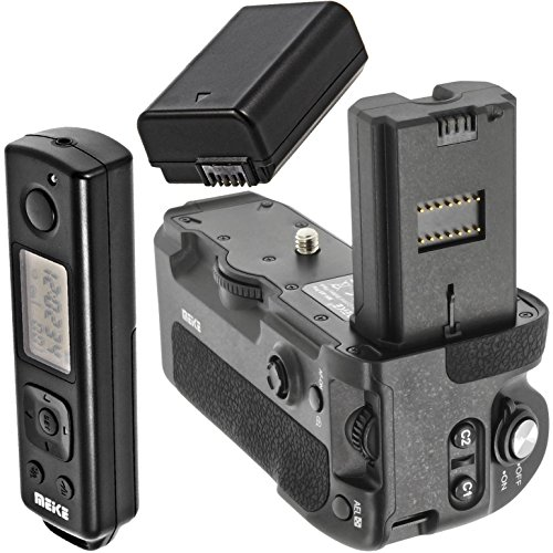 Meike - Empuñadura de batería, Compatible con Sony Alpha A9 A7rIII, sustituye...