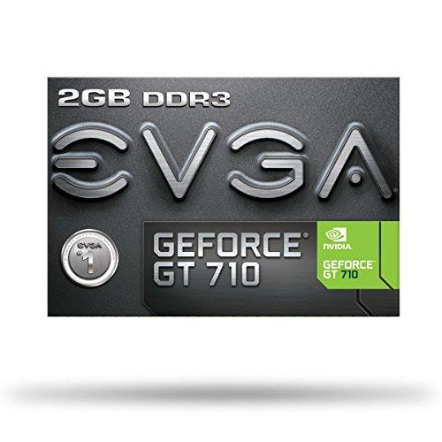 EVGA GT 710 2GB DDR3 64bit Single Slot, Low Profile 02G-P3-2713-KR
