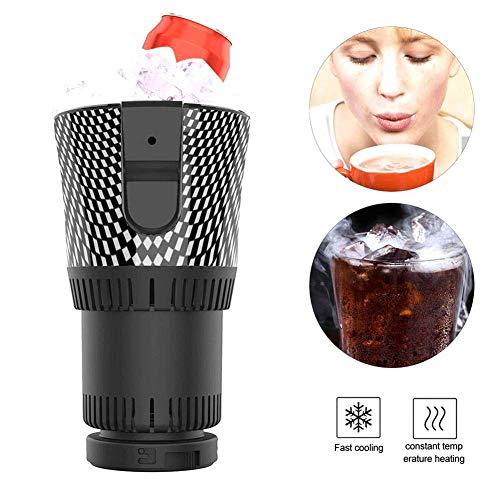 Tragbare Auto Tasse Kühler wärmer Halbleiter Mini Kühlschrank Getränkehalter Kühlung Heizung Getränkedosen, 12V Smart Auto heiße und kalte Tasse