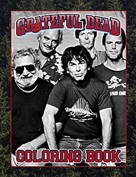 Grateful Dead Coloring Book  Grateful Dead Color Wonder Adults Coloring Books