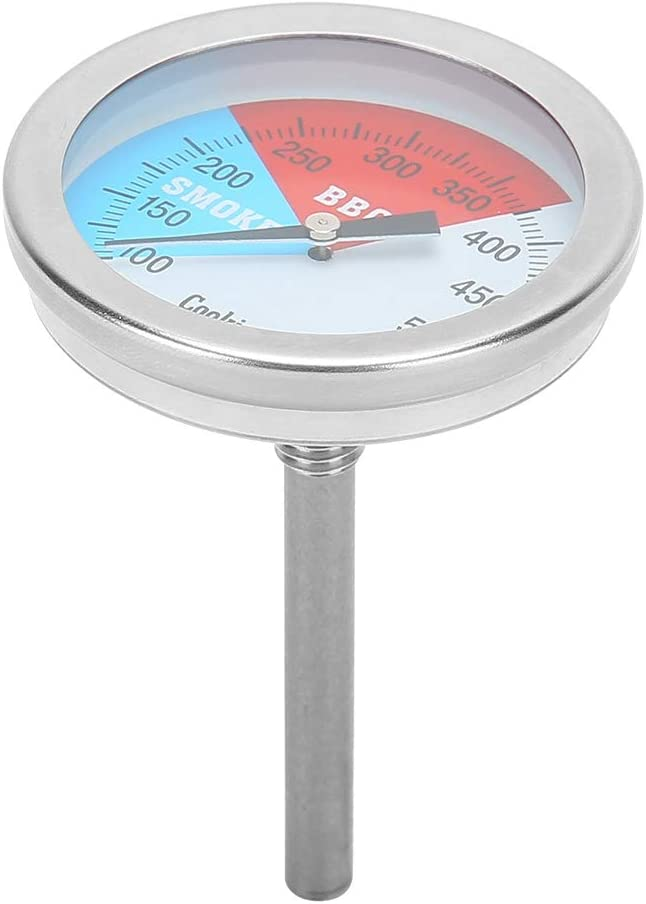 Bombing free shipping QiaNgshuAikj BBQ Challenge the lowest price Thermometer Bimetal Dial Barb On A Large-Scale