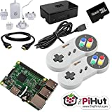 Raspberry Pi 316Go Retro Gaming Bundle with 2manette SNES style by the pi Hut