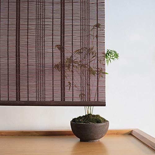 Wall hanging Cortinas de bambú, persianas enrollables, Cortinas de Puerta, Cortinas de salón de té, protección Solar, Cortinas de bambú Retro, tasa de sombreado 50%