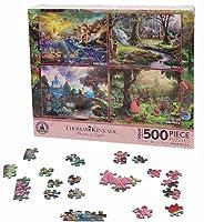 Disney(ディズニー)Disney Princess Puzzle Set by Thomas Kinkade パズルセット 【並行輸入品】