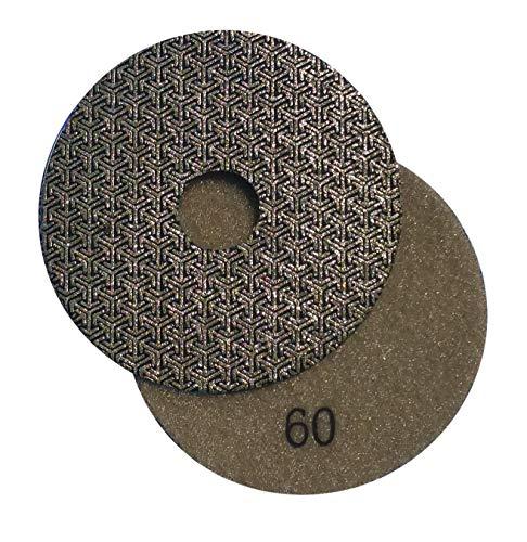 Stadea PPE113A Electroplated Diamond Polishing Pads 4' Diamond Wet Dry Sandpaper for Glass Concrete Marble Granite Polishing Sanding