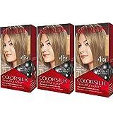 Revlon ColorSilk Hair Color 60 Dark Blonde (Pack of 3)