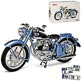 Horex Regina Silber Blau Metallic 1949-1956 1/10 Schuco Modell Motorrad mit individiuellem...
