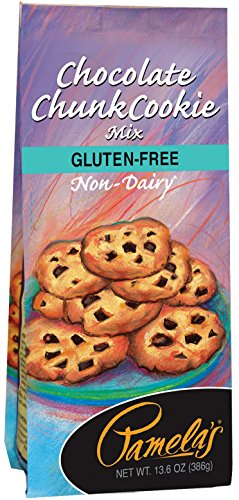 Pamela's Products Gluten Free Cookie Mix, Chocolate Chunk, 13.6 Ounce Unit (Pack of 6)