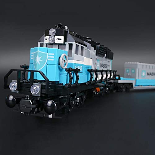 1234Pcs Neue Genuine-Serie The Classic Train Set Building Blocks Bricks Educational Toys for Girls and Boy