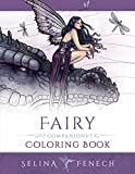 Fairy Companions Coloring Book - Fairy Romance, Dragons and Fairy Pets (Fantasy Coloring by Selina) (Volume 4)