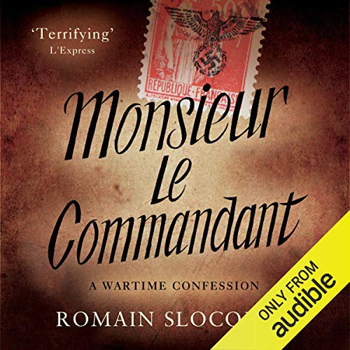 Monsieur le Commandant audiobook cover art