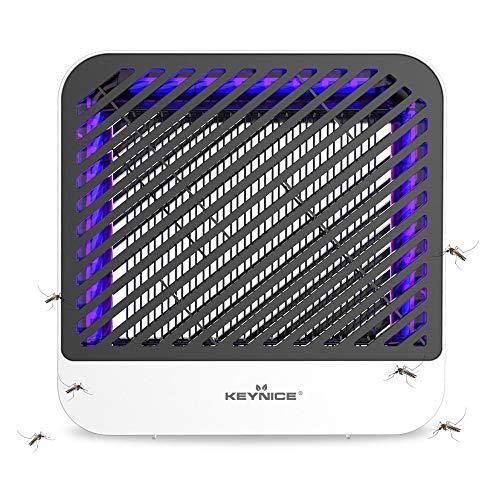 KEYNICE Lampe Insecticide électronique 8 W UV LED électrique Anti-moustiques