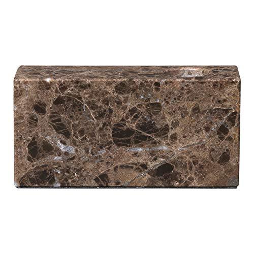 Blomus Kerzenhalter-65998 Marmor Kerzenhalter, Braun, One Size