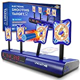 UWANTME Electronic Shooting Target Scoring Auto Reset Digital Targets for Nerf...