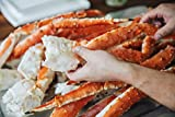 Alaska King Crab is unmatched in flavor, texture, and Colossal size: ¾ - 1lb per leg. Highest quality from our fishing boats in Bristol Bay. The most sought-after of the three Alaskan Crab species and popular with people who love seafood. Perfect for...
