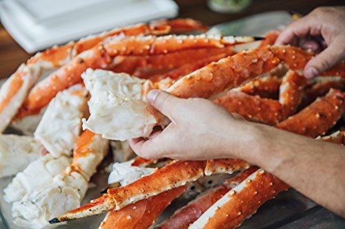 Alaskan Colossal Red King Crab Legs…
