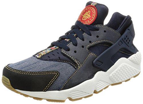 Nike Air Huarache Run Se, Scarpe da Ginnastica Uomo, Blu (Dark Obsidian/Dark Obsidian/Summit White), 45.5 EU