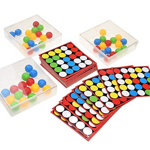 Sharplace Tablero de dedo Flexible, bola rodante de dedo, juguetes de rompecabezas del Tesoro de La Palma, tablero de ajedrez de dedo Flexible, juego