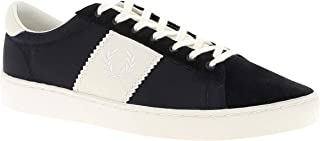 Fred Perry Spencer Poly Leather Navy B4102608, Men's Trainers - 42 EU