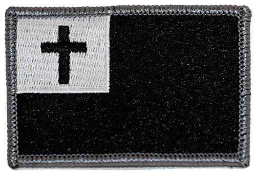 Tactical Christian Flag - Black