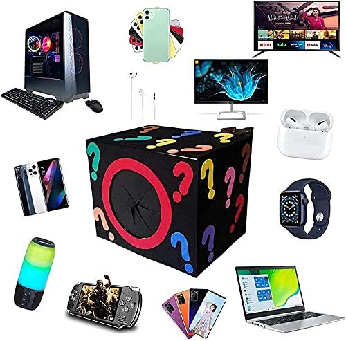 Mysterious Blind Box Lucky Mystery Box elettronici, ottimo rapporto qualità-prezzo, prodotti casuali, possibilità di apertura: come droni, orologi intelligenti, gamepad, altro tutto è possibile